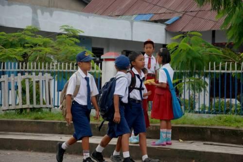 Siswa SMP kelas VII